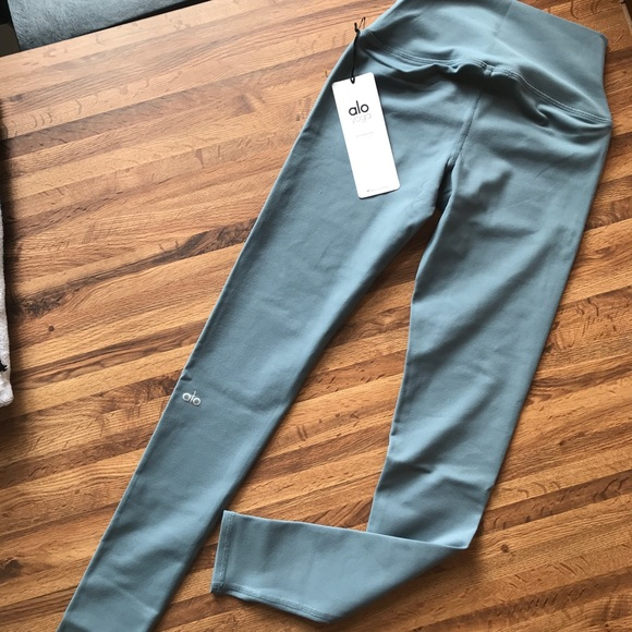 b7165ce30c278c ALO Yoga Pants | Alo High Waist Airbrush Leggingsconcretexs | Poshmark